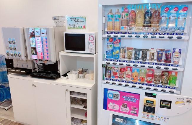 ポケットワーク大阪店飲み物